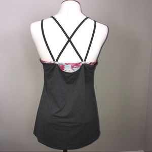 Calia By Carrie Underwood Layered Tank Top M